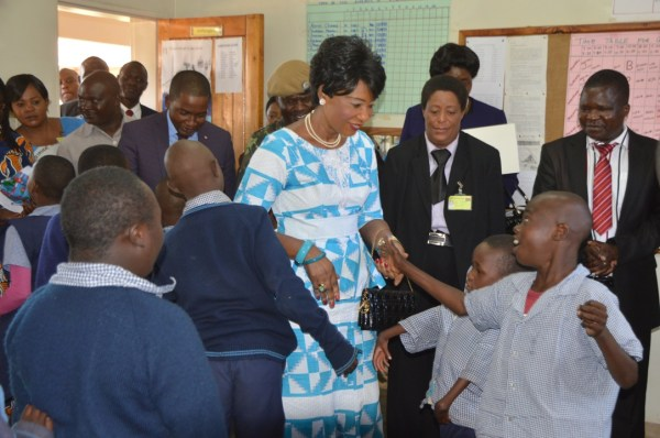 First Lady commits to education of special needs children ...