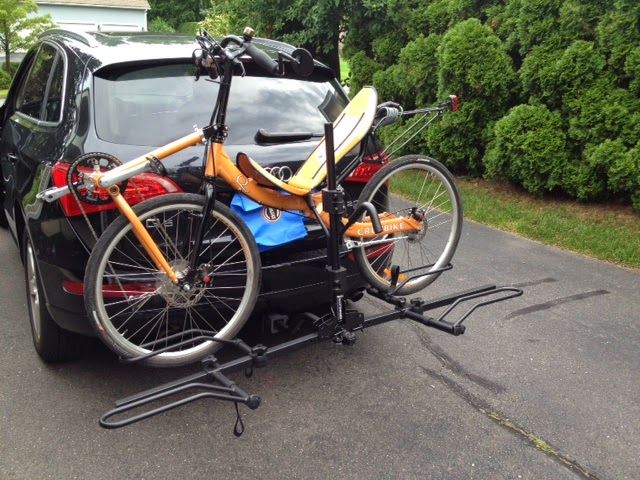 Car racks for recumbent bikes / recumbent bike racks for cars