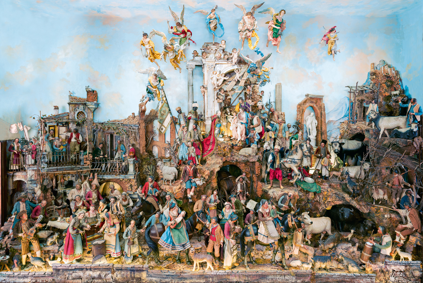 Crowding Around The Nativity By Garry Wills NYR Daily