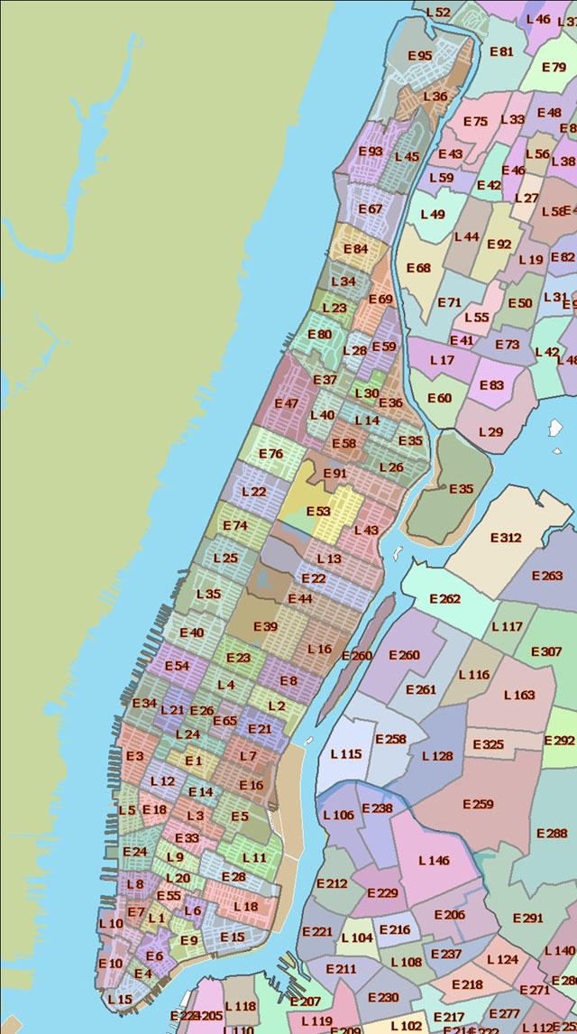 Map Ny Subway Printable Manhattan