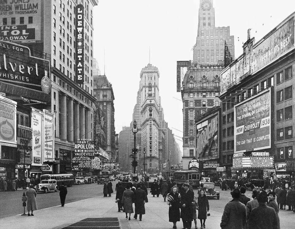 Histoire de Time Square