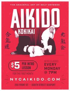 Aikido Kokikai $5 Intro Class Special