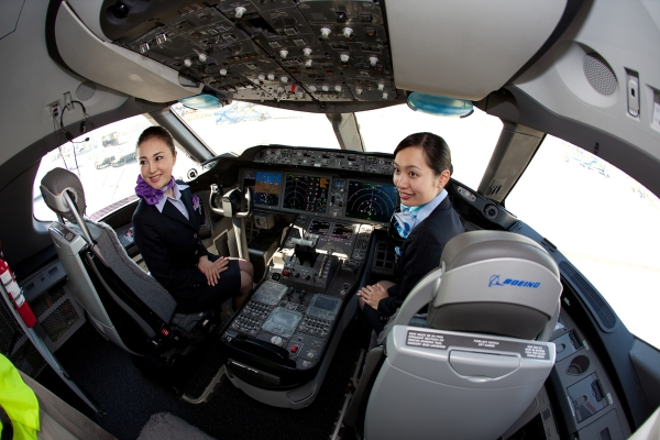 Photos First Look At Ana S First Boeing 787 Inside And