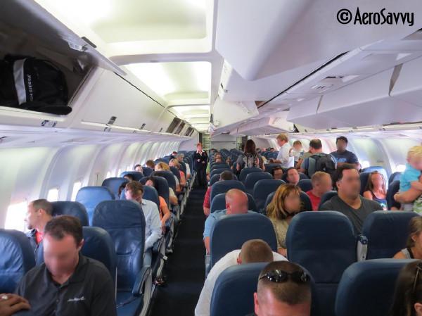 Boeing 747 Interior Coach
