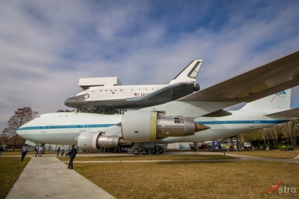 NASA 905 Spreads Her Wings in New Texas Exhibit ...