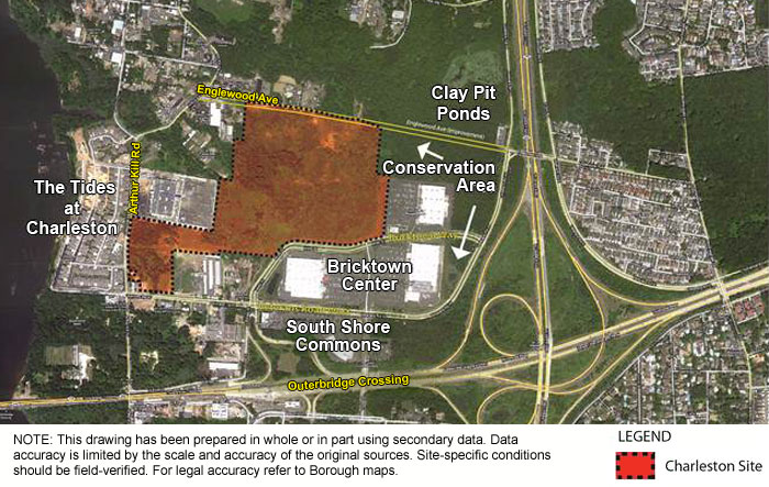 Charleston Municipal Site Context