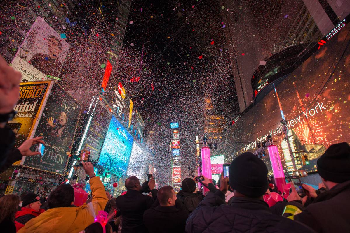 New Year s Eve in Times Square  Don t Drop the Ball