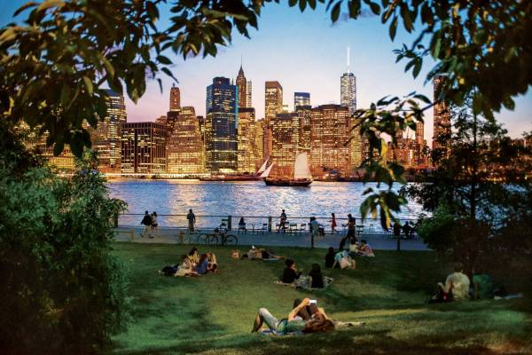 The View from Brooklyn Bridge Park