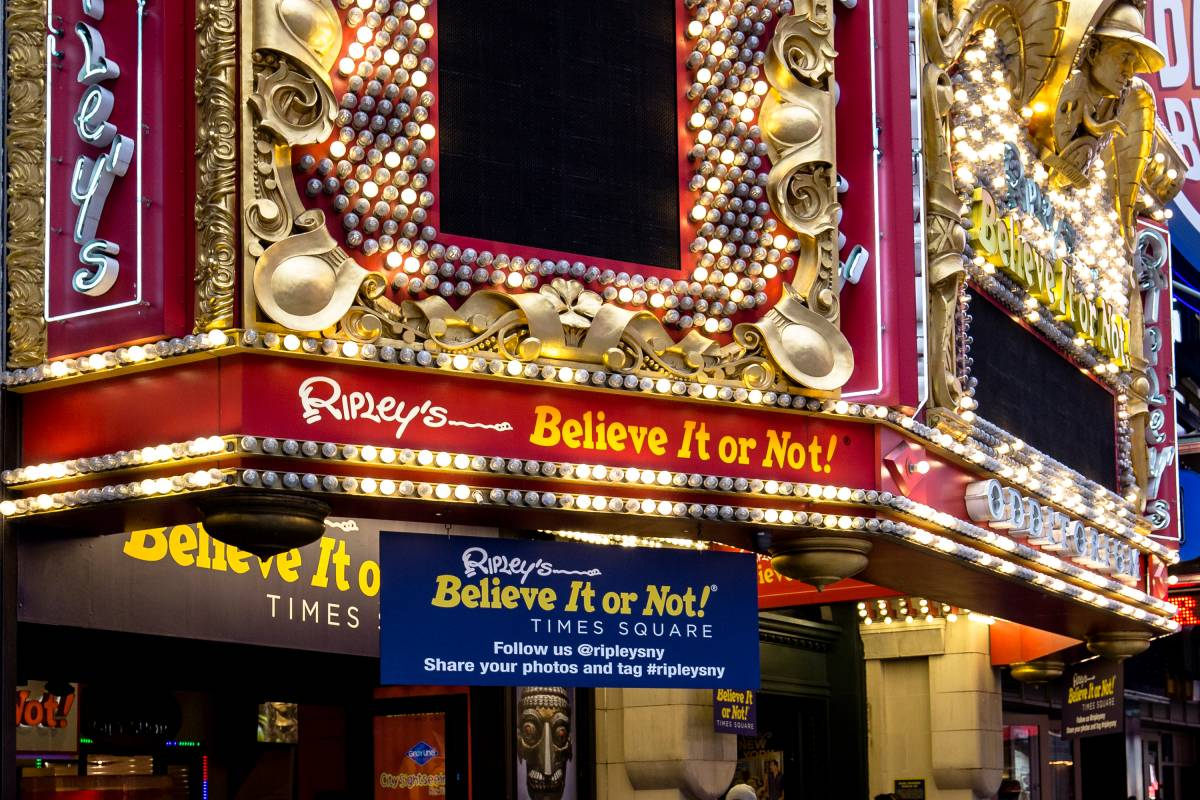 Ripley S Believe It Or Not Times Square