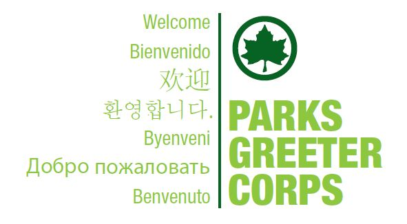Parks Greeter Corps