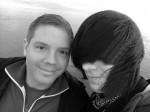 Alex und ich in Büsum auf der Mole :)