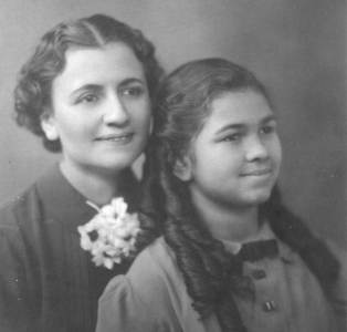 Barbara and her mother