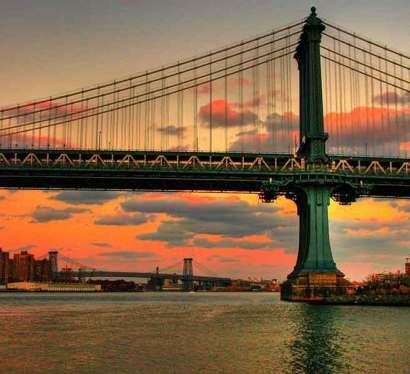 Bridge across the East River