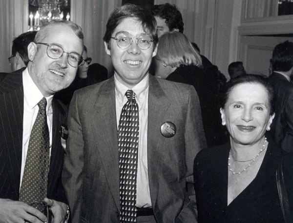 Anthony C. Wood, Jeffrey Kroessler, and Joyce Matz.