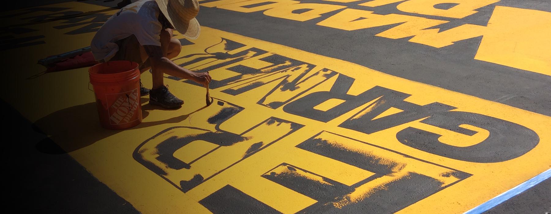 BLM mural slider