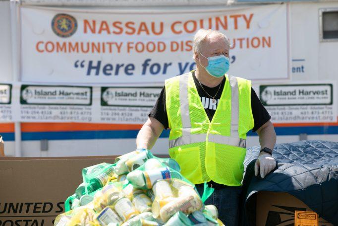 Island Harvest Food Bank donation drive