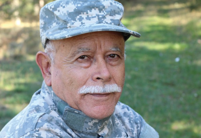 A veteran profile.