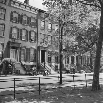 Greenwich Village in the 1950s