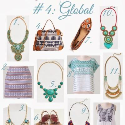Spring 2014 Trends: Global