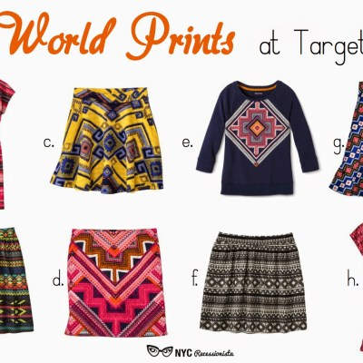 Target Summer 2014 Collections: World Prints