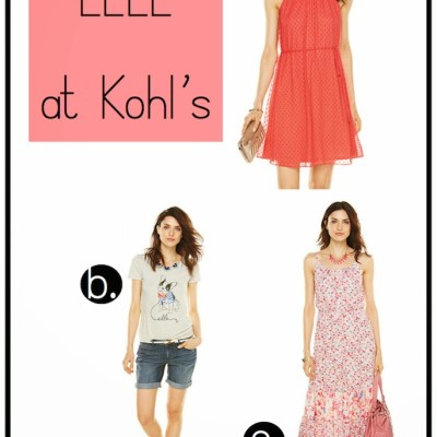Summer Must-haves from ELLE at Kohl's