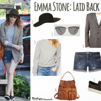 Outstanding Outfits: Emma Stone's Laid Back Cool