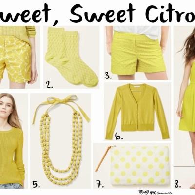 Sweet, Sweet Citron