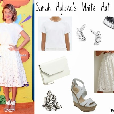 Affordable Alternatives: Sarah Hyland's White Hot Outfit