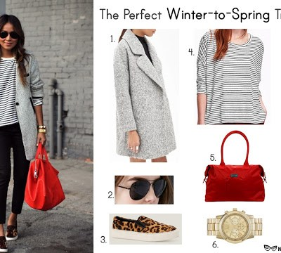 Outstanding Outfits: Winter-to-Spring Transition