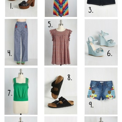 70s Style at Modcloth