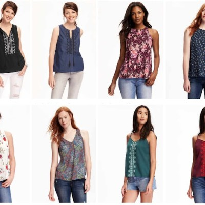 ONE DAY SALE: $10 tunics at Old Navy