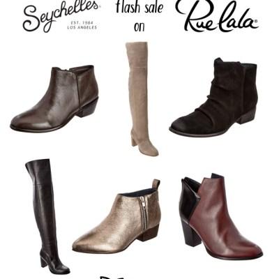 FLASH SALE: Seychelles shoes are back at Rue La La