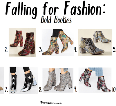Falling for Fashion: Bold Booties