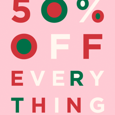 SALE ALERT: 50 percent off EVERYTHING at LOFT