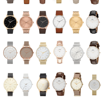 30 minimalist watches you need right now