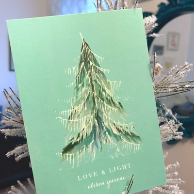 REVEAL: my Minted holiday cards + take up to 20 percent off