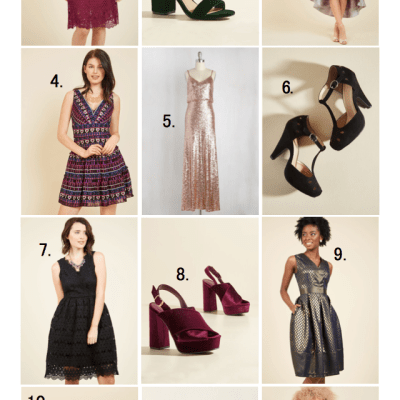 Modcloth's 12 Days of Deals – 40 percent off holiday party style