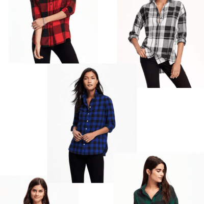 ONE-DAY DEAL: $10 flannel shirts at Old Navy