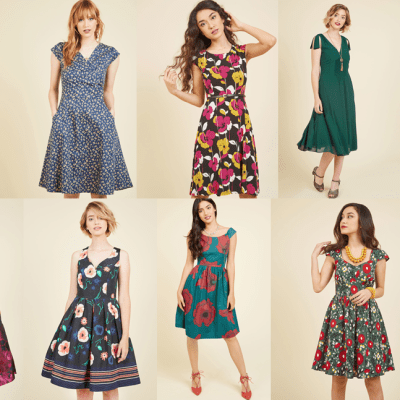 SALE ALERT: extra 30 percent off all sale dresses at Modcloth