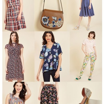 FLASH SALE: 30% off Modcloth purchase of $100 or more