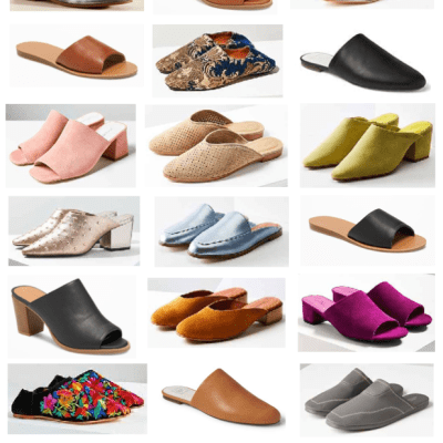 Spring 2017 Trends: Slides and Mules