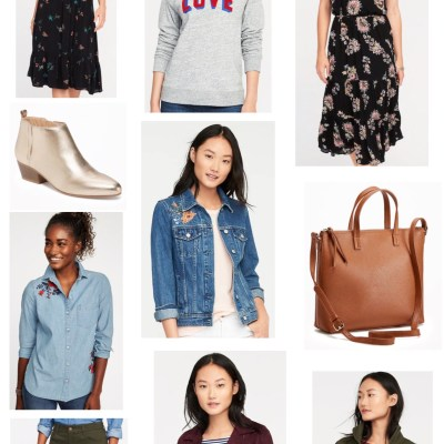 SALE ALERT: 40 percent off at Old Navy, Gap and Banana Republic