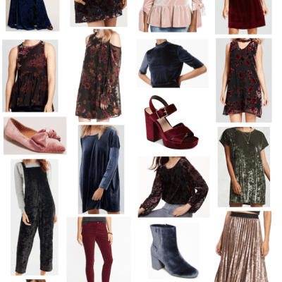 Fall fashion trends are here and velvet is a big one