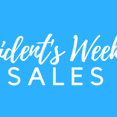 All the best President's Weekend Sales