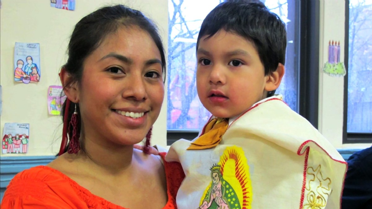 Mexican immigrants in the Bronx celebrate Our Lady of Guadalupe