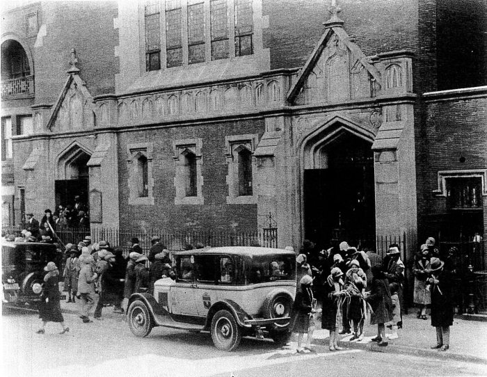 Palm Sunday at Salem Episcopal Church, 1930s. Photo: Fred Snelson
