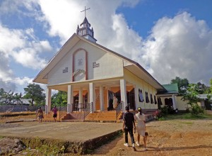 Gereja Ebenhaezer, church in Kupang, West Timor, Indonesia