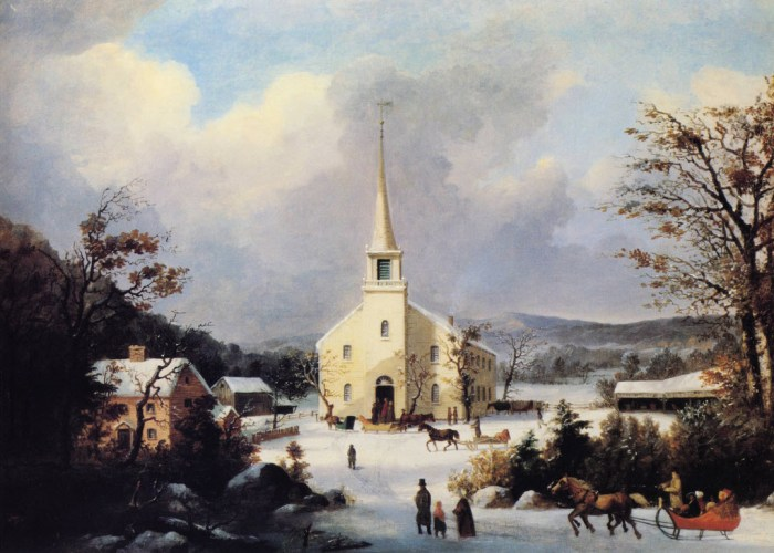 """Going to Church"" was popular in Brooklyn."