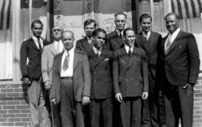 Greenpoint Pentecostal Church, 1930s.Pastor Meliton Donato, r.