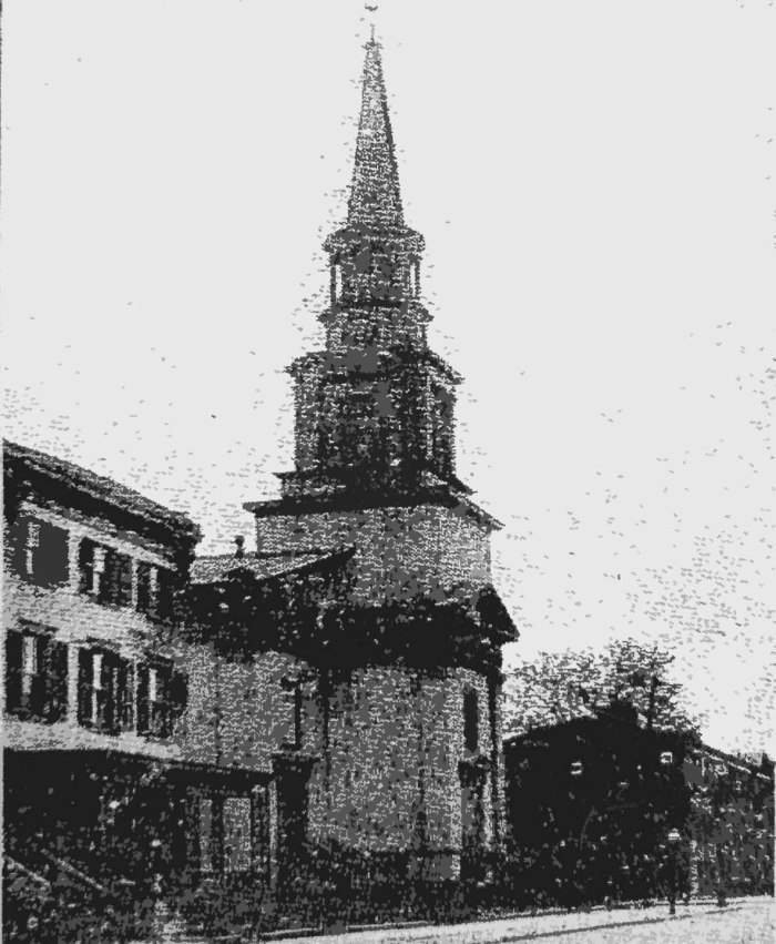First Spanish Presbyterian Church. Building erected 1865 by South Third Street Presbyterian Church